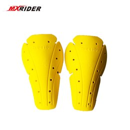 Motorcycle Body Kit Canada - Motorcycle Soft Armour Kit Shoulder Elbow Knee Protector Pad Body Armor Yellow Type B Protective Gears Back Protector