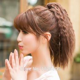 $enCountryForm.capitalKeyWord NZ - 2018 New Style kinky curly black women claw clip on ponytail coarse yaki wrap around clip in hair extension fake ponytails hairpiece
