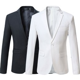 $enCountryForm.capitalKeyWord Australia - Red Burgundy Navy Blue Black White Casual Slim Fit Formal Jacket Male Suit Blazer Men Plus Size 5XL 6XL