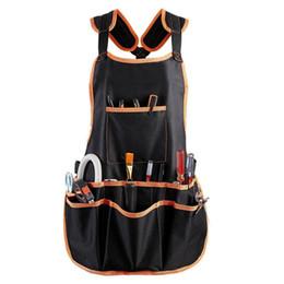 $enCountryForm.capitalKeyWord Australia - HOT SALE Work Apron tool 16 Tool Pockets belt Adjustable vest Apron for mans work and women with wa