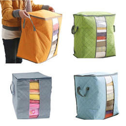 $enCountryForm.capitalKeyWord NZ - Large Capacity Foldable Multifunction bag Hot Selling Large Clothes Bedding Duvet Zipped Pillow Storage Bag Box Levert Dropship