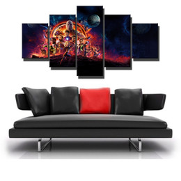 Avengers Wall Decor Australia - Avengers Infinity War Poster -04,5 Pieces Canvas Prints Wall Art Oil Painting Home Decor (Unframed Framed)