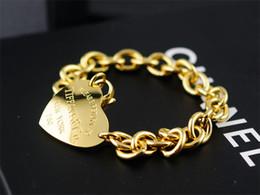 $enCountryForm.capitalKeyWord Canada - High Quality Celebrity design 925 Silverware Gold Chain bracelet Women Letter Heart-shaped Clover Bracelets Jewelry With dust bag Box