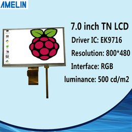 Tft Lcd Touch Screen Module Australia - Normally white 7 inch 800*480 TFT LCD module display RGB-24BIT EK9716 Driver IC screen with resistive touch panel