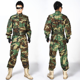 MulticaM uniforMs online shopping - 2019 NEW MULTICAM Uniform ACU Camouflage Clothing Suits For Hunting Paintball Military Army Training Jacket Pants