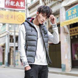 4befe8d10 Korean men winter wear online shopping - Cotton vest men s tide autumn and winter  Korean