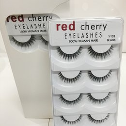 $enCountryForm.capitalKeyWord Australia - Top seller Red Cherry False eyelashes 5 pairs pack 8 Styles Natural Long Professional makeup Big eyes High quality
