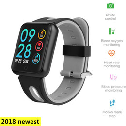 watches like bracelets 2019 - fitness bracelet P68 ip68 waterproof for ios Android looks like watch xiaomi amazfit bip with heart rate monitor cheap w