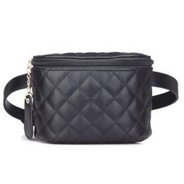 9b120b58758a7 Women s PU Leather Waist Bag Solid Women Men Phone Bag Money Belt Waist  Pouch Fanny Pack women Belt Purse Man