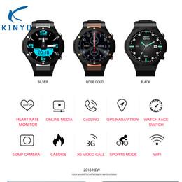 $enCountryForm.capitalKeyWord NZ - 2018 smartwatch android ios smart watch men heart rate 24h support nano sim card wristwatch 3G video call GPS WIFI pk kw88 sw007