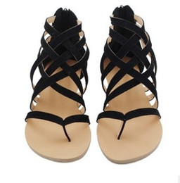 1a5584a5d7e6 black pink brown new style free shipping large size rome sandal women shoes  spot clip toe hollow-out sandals 467