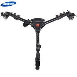 dolly camera Australia - YUNTENG Foldable Adjustable Legs Lightweight Tripod Dolly Max Load 15kg   33Lbs for tripod Camcorders Cameras