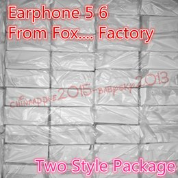 Wholesale Earphone With Retail packaging good Quality headset in ear headphones earphone With Remote Mic for MM s s
