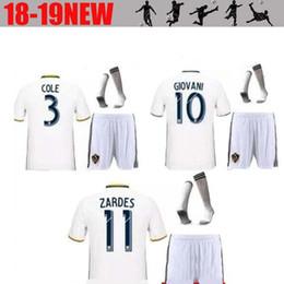 galaxy soccer uniforms 2019 - Zlatan Ibrahimovic LA Galaxy 2018 2019 Home White Soccer uniform football kits Shirts with sMANDZUKIC PJANIC HIGUAIN foo