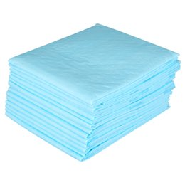 Wholesale Disposable Baby Diapers UK - 15PCS Bag New Disposable Changing Covers Baby Diaper Mat Changing Table Bed Sheet Underpad for Baby Mum Elder Pad 60x60CM Size