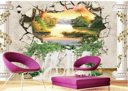 $enCountryForm.capitalKeyWord NZ - bathroom wall paper 3D three-dimensional European-style picture-in-picture wall background 3d wallpaper for bedroom