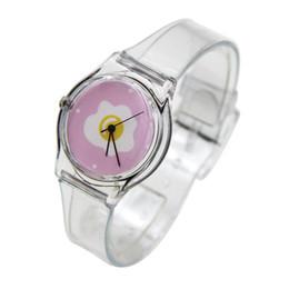 $enCountryForm.capitalKeyWord UK - Transparent Watch Band Silicone Ladies Lovely Fashion Harajuku Style Watch Quartz Novelty Cartoon Floral Women's Gift