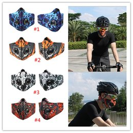 Bikes sportswear online shopping - 10pcs DHL New Arrivals Outdoor Training Sports Cycling Dust Mask Bike Bicycle Masque Nylon Anti PM2 Running Sportswear
