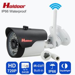 Mini Cctv Camera Sd Card NZ - Holdoor Webcamera HD ip video camera wifi smallest wireless Camera mini CCTV cam with micro sd memory card slot Motion Sensor