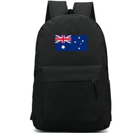 $enCountryForm.capitalKeyWord Canada - Australia flag backpack Star logo country day pack Aussie banner school bag Casual packsack Good rucksack Sport schoolbag Outdoor daypack