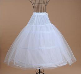 $enCountryForm.capitalKeyWord Australia - High Quality 2019 New A Line Plus Size Crinoline Bridal 3 Hoop Petticoats For Wedding Dress Wedding Skirt Accessories Slip No Train