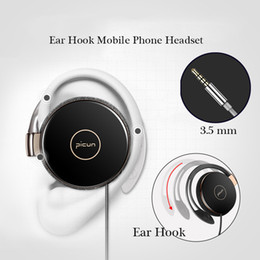 Iphone Stereo Player Australia - Headphones Sports running headset for iphone Earpieces Stereo Bass Music Wired Headset Headphone with Micrphone MP3 Player