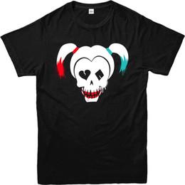 76c510fb6c Suicide Squad T-Shirt Movie Inspired Quinn Skull Graffiti T-Shirt Tee T  Shirt NEW ARRIVAL
