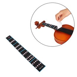 Discount violin fingerboard - MoonEmbassy Violin Fiddle Fingerboard Fret Guide Label Finger Chart for Beginner Violin Accessories
