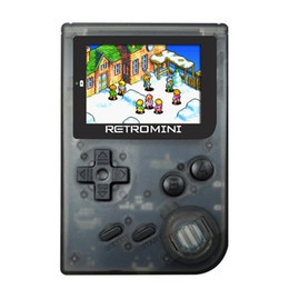 Discount handheld pocket games NEW RETROMINI Handheld Game Player 32 Bit Retro Mini Pocket Game Console Anti-Dropping Classic Games Best Gift