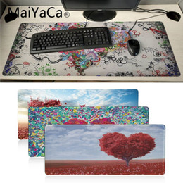 $enCountryForm.capitalKeyWord NZ - MaiYaCa Beautiful Anime Heart shaped Flowers High Speed New Mousepad Large Gaming Mouse Pad Anti-slip Locking Computer desk mat