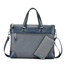 d82bbdf7293e 2017 новые мужские PU кожаный портфель briefase моды для качества  дизайнерские сумки для документов А4 мужские комплект сумка