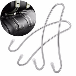 China Nosii Muiltifunction 1pc Car Back Seat Double Hook Auto Headrest Hanger Clothes Purse Bag Organizer Holder Hanging Travel cheap car back seat headrest suppliers