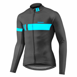 Chinese  2019 GIANT New Spring and Autumn Men's Long Sleeve Cycling Jersey MTB Pro Team cycling clothing Bicicleta Maillot Ropa Ciclismo Y013133 manufacturers