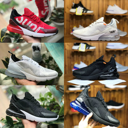 los angeles 45368 71f43 nike air max 270 vapormax airmax off white 270 flyknit shoe zapatos  deportivos barato 270S negro