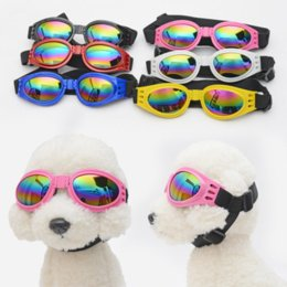 toy goggles 2019 - Pet Sunglasses Toys SMALL PET DOG Goggles Doggles ILS SUNGLASSES UV Eye Protection