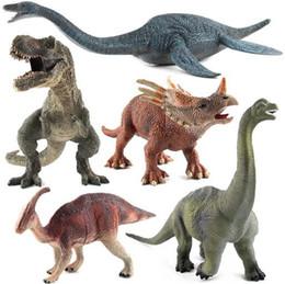 Dinosauro Figure Toy Classic Realistico Realistico cercando Jumbo Plastic Vinyl Model Collection Bambini Bambini Educational YH1189
