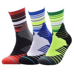 All'ingrosso professionale sport all'aria aperta fondo asciugamano calzini da basket traspirante sudore-assorbente anti-skid resistente pacchetto protezione MS184