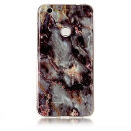 silicone case for samsung galaxy j7 UK - Skin For Samsung Galaxy Note 9 A6 A8 A9 Plus Cover TPU IMD Case Soft Gel Plastic Silicone Galaxy J3 J4 J6 J7 J8 A8 2018 Stone Marble Shell