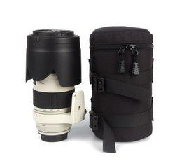 Фотографические аксессуары DSLR объектив камеры чехол черный противоударный сумки Сумка для Canon Nikon Sony Protector на Распродаже