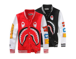 Discount fashion wear for l - Fashion Fat man shark Hoodies With Box Hip Hop Sweatershirt with High Quality Pullover Oversize For Men Women Outdoor We