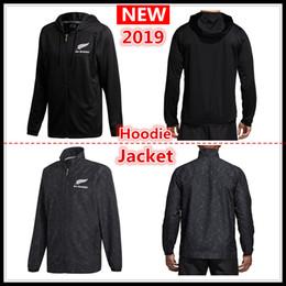 Jackets xxxl waterproof online shopping - 2019 All Blacks Black Hoodie New Zealand Super Rugby Jerseys All Blacks jersey Presentation Jacket s xl