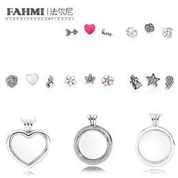 $enCountryForm.capitalKeyWord NZ - FAHMI 100% 925 Sterling Silver Charm Magic Box Earrings Ring Necklace Heart Shape Five-Pointed Star Exquisite Fashion Ladies Jewelry