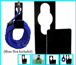 Discount newest hose - Wholesale Newest Garden Hose Storage Solid Steel Wall Mounted Holder Watering Equipments Free Shipping