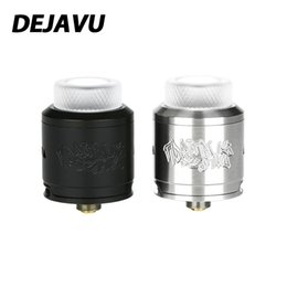 $enCountryForm.capitalKeyWord UK - 100% Original DEJAVU RDA Tank Atomizer Unique build deck for dual coils building E-cigarette RDA Tank