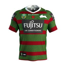 2019 NRL JERSEYS Austrália SUL SYDNEY RABBITOHS Austrália NRL National Rugby League SUL SYDNEY RABBITOHS 2018 ANZAC JERSEY tamanho S-XXXL