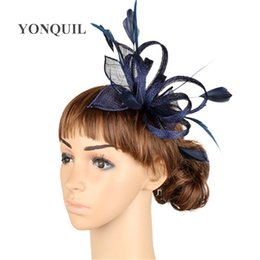 02c0c65d0548d High quality multiple color fascinator headwear wedding hair accessories  women millinery cocktail occasion hats MYQ005