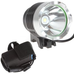 led bike bicycle t6 cree Australia - 1800 Lumens CREE XM-L T6 LED Bicycle Headlamp Headlight Bike Front Flash Light With Rechargeable Battery Pack