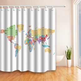 Map shower nz buy new map shower online from best sellers dhgate map shower nz world map creativity pattern 69 x 70 inch polyester fabric shower curtain gumiabroncs Image collections