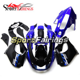 thunderace fairings UK - Blue Black Fairings For Yamaha YZF1000R Thunderace 1997 - 2007 97 - 07 Full Motorcycle Kit ABS Fairing Plastic Covers Bodywork Hulls