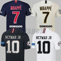 bc2d6ef9a 2018 19 Psg Champions League Soccer Jerseys Neymars Jr Mbappe Cavani Futbol  Camisetas Football Germain Shirts Saint Kit Paris Maillot Camisa